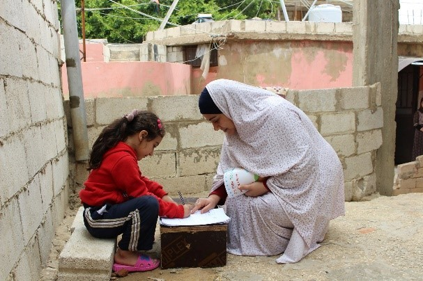 Děti komunitní školka Tahhadi